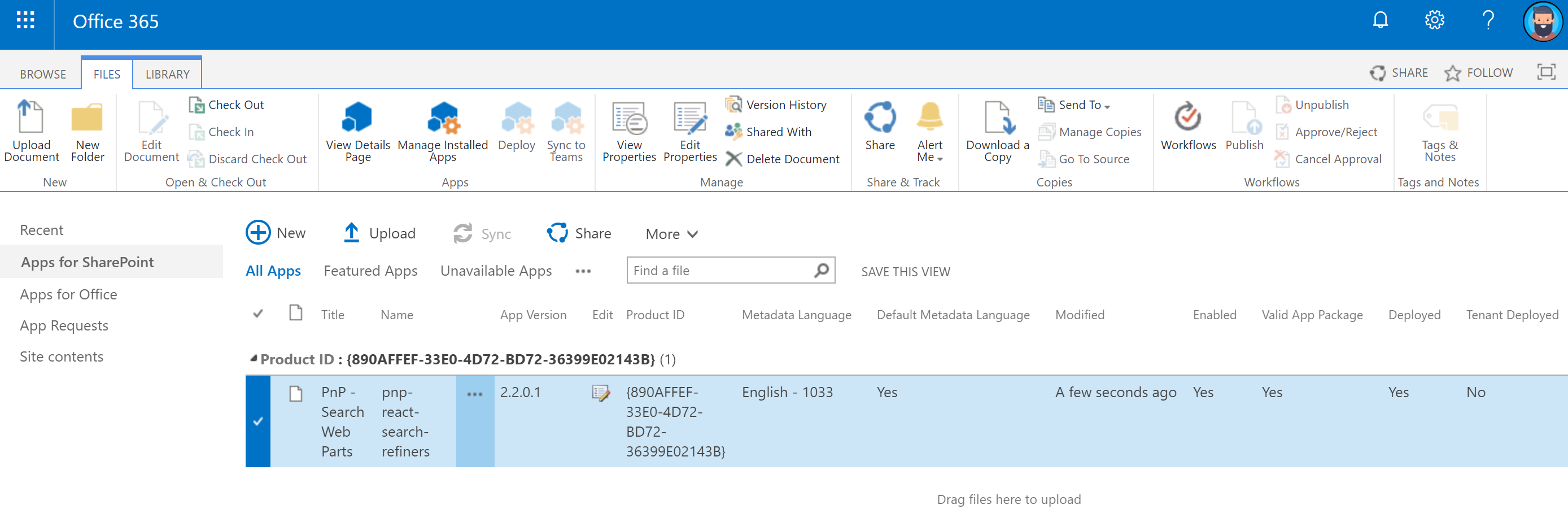 Categorize, organize and layout your Office 365 intranet